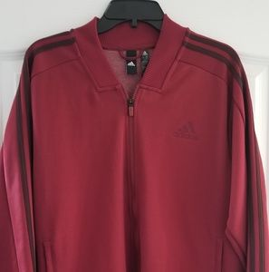 Adidas 3-strip full zip track jacket